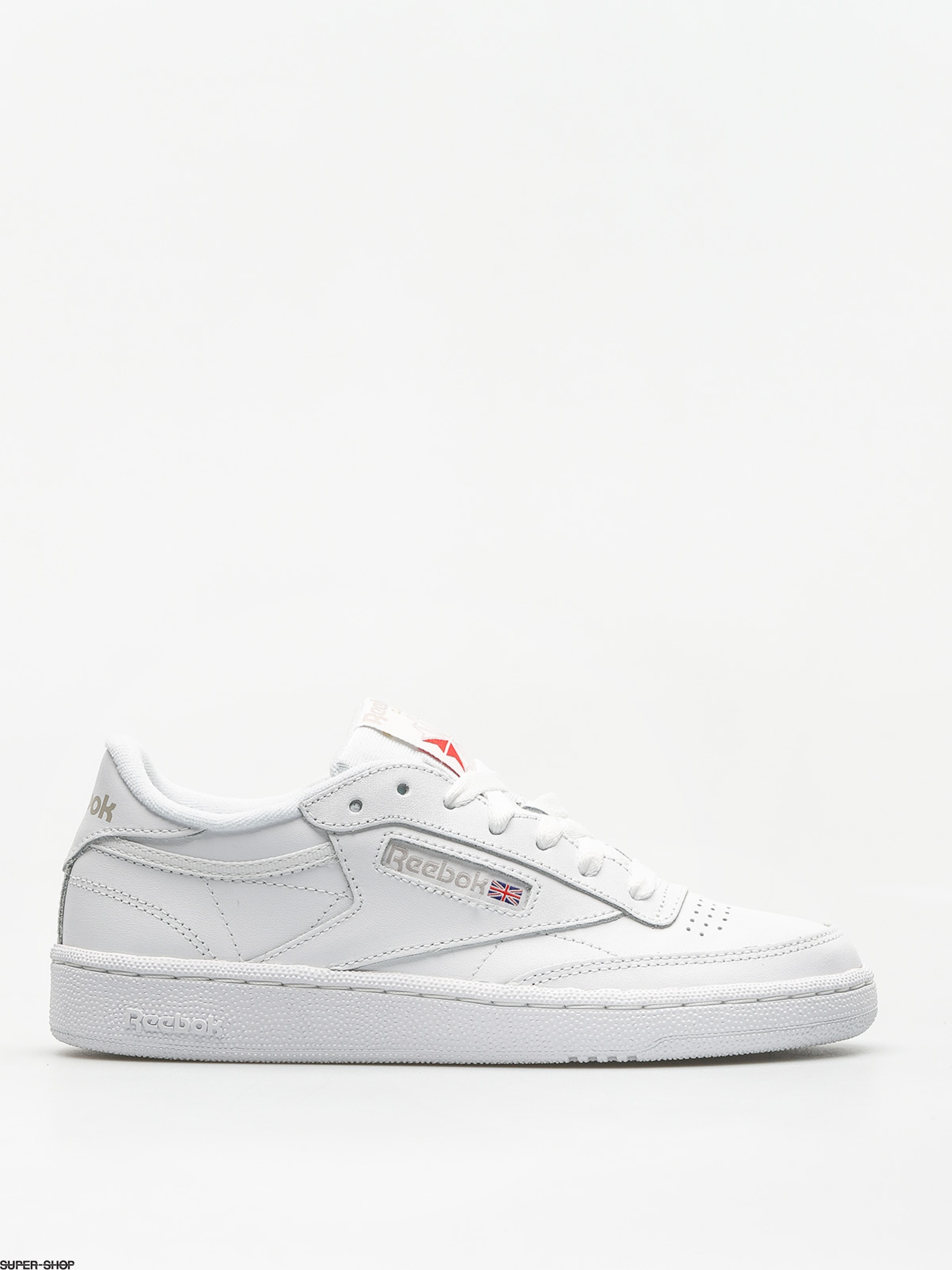 Reebok Shoes Club C 85 Wmn (white/light grey)