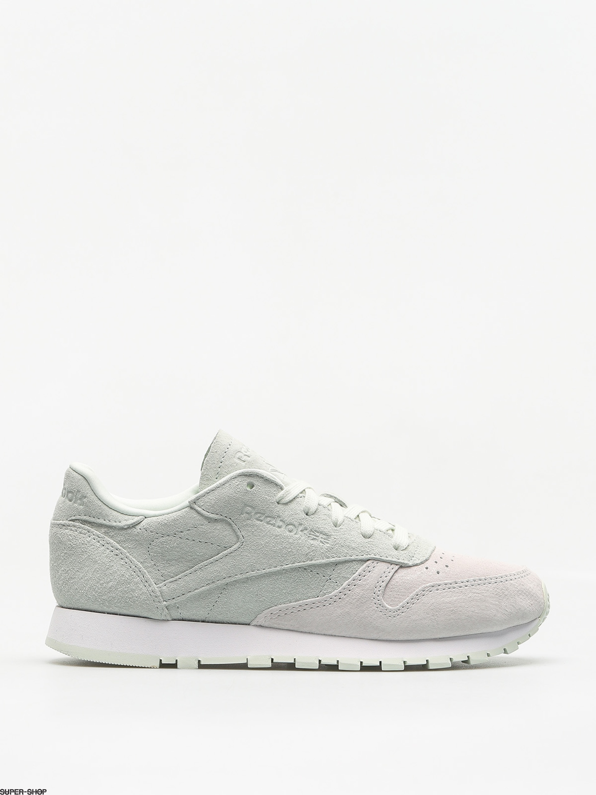 Reebok Shoes Cl Lthr Nbk Wmn (white/opal)
