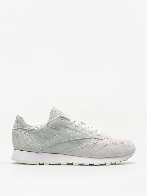 Reebok Schuhe Cl Lthr Nbk Wmn (white/opal)