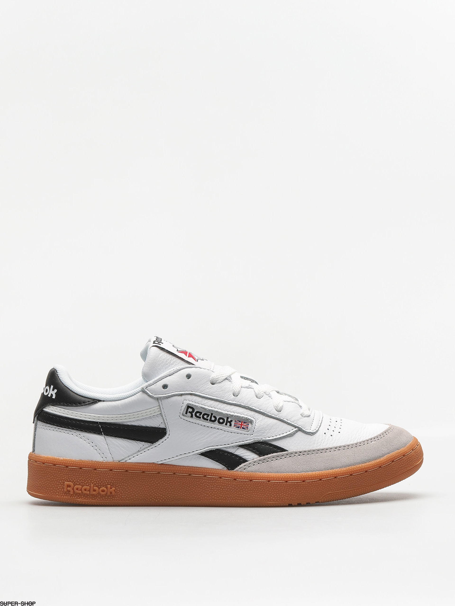 Reebok Shoes Revenge Plus Gum (white/snowy gry/blac)