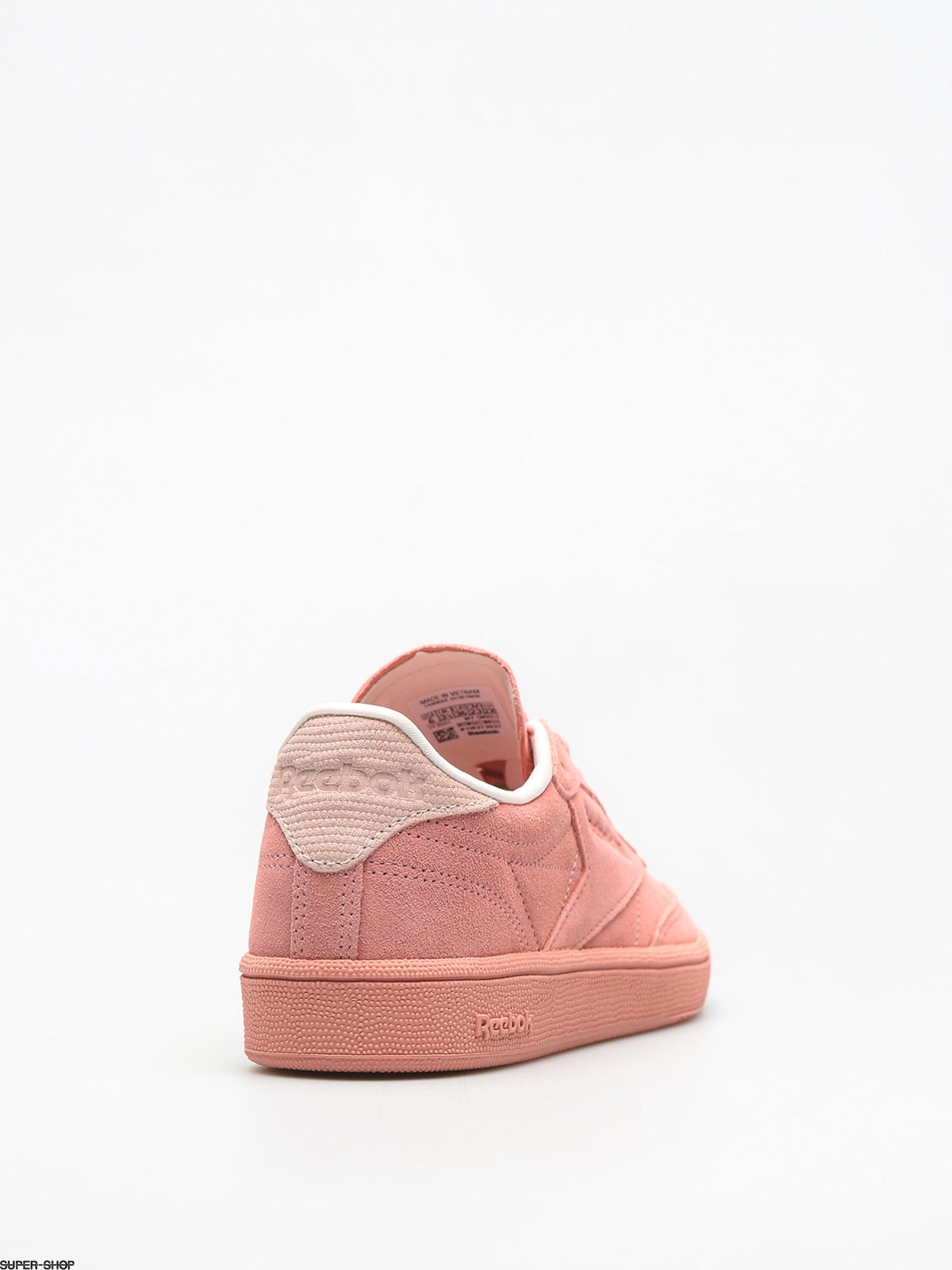 420a886e6a5 Reebok Shoes Club C 85 Nbk Wmn (chalk pink pale pink)