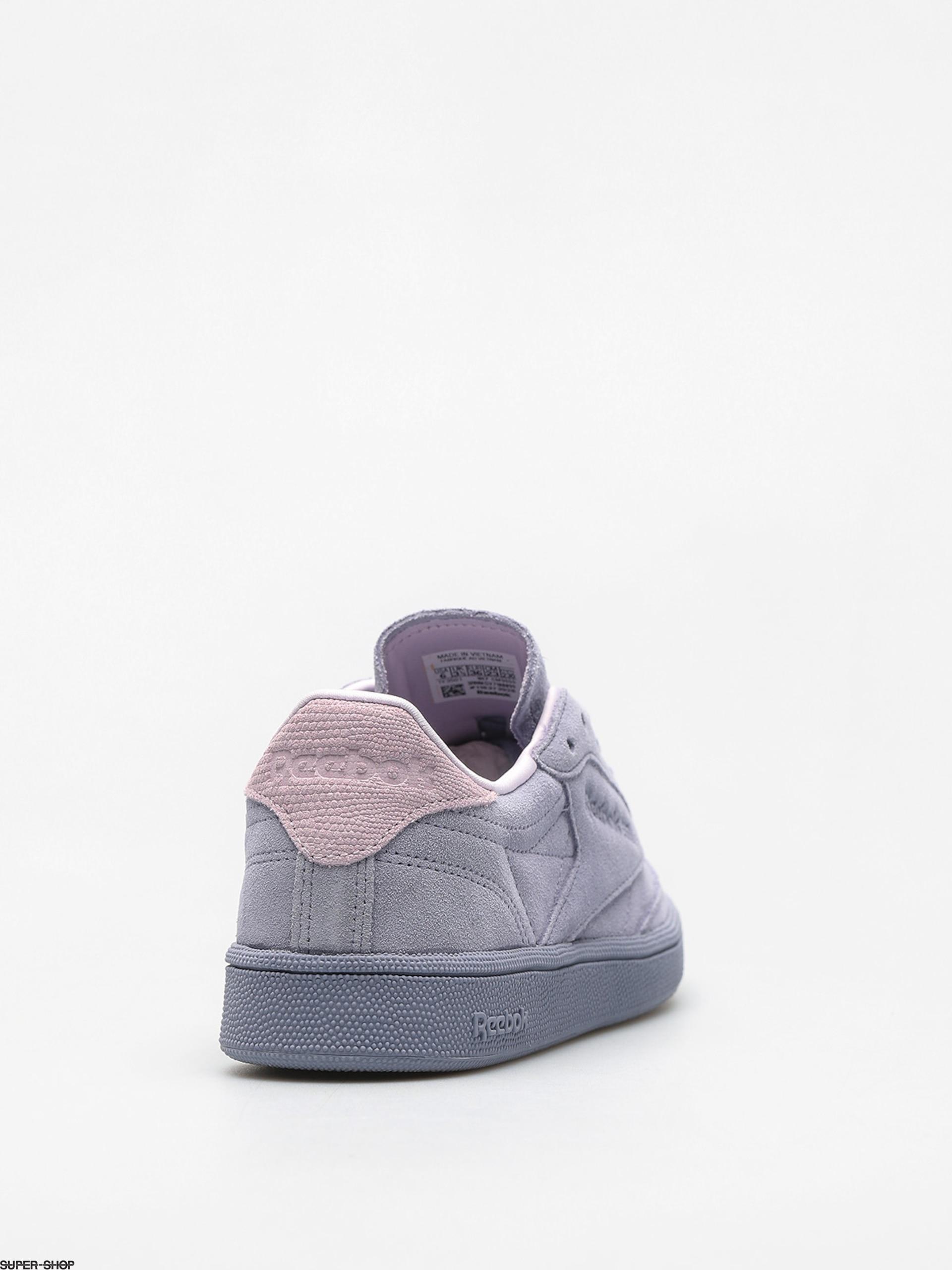 a1320dc87e1 Reebok Shoes Club C 85 Nbk Wmn (purple fog quartz)