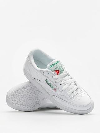 Reebok Shoes Club C 85 Archive Wmn (white/glen green/red)