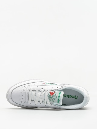 Reebok Schuhe Club C 85 Archive Wmn (white/glen green/red)