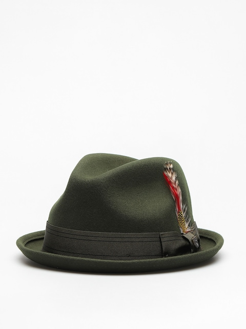 Brixton Hat Gain Fedora (moss/moss)