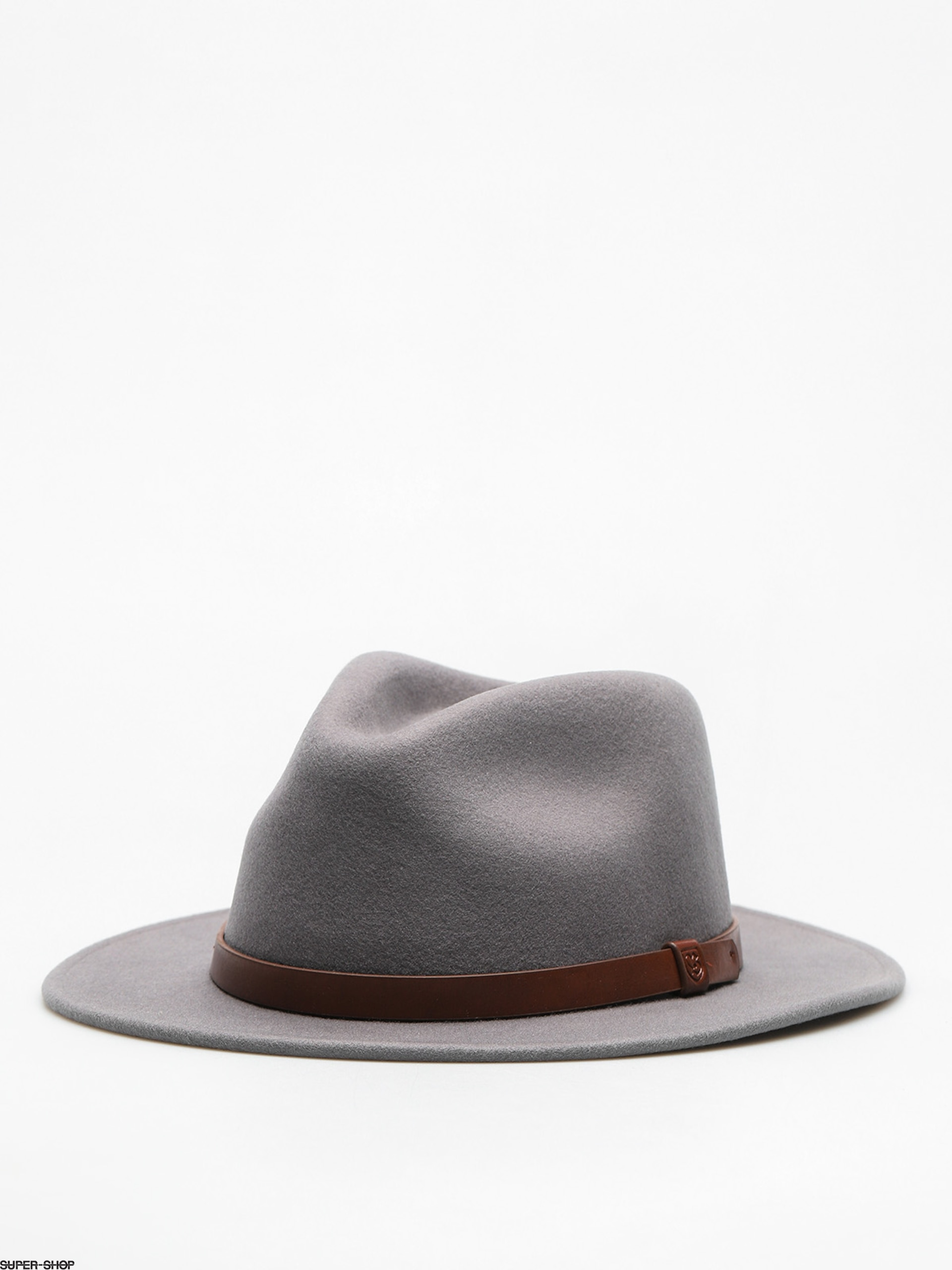 Brixton Hat Messer Fedora (light grey/brown)