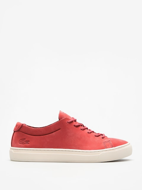 Lacoste Shoes L 12 12 Unlined 118 3 Wmn (red/off white)
