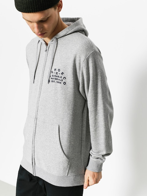 DC Hoodie Durable Timer ZHD (grey heather)