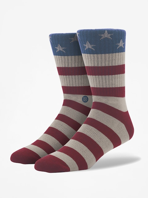 Stance Socken The Fourth (red)