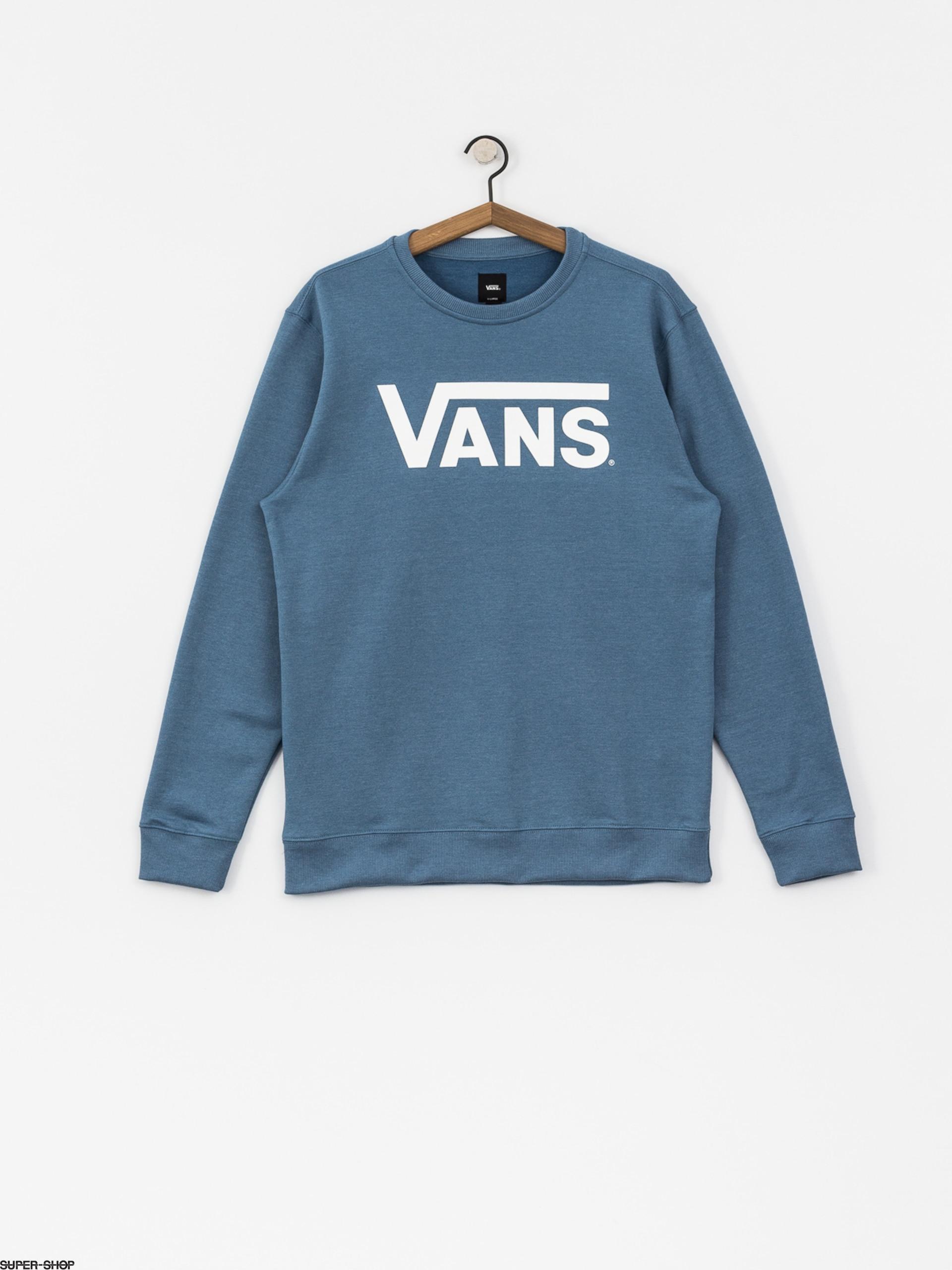 Vans Sweatshirt Classic Crew (copen blue heather white) bcb9c4453f