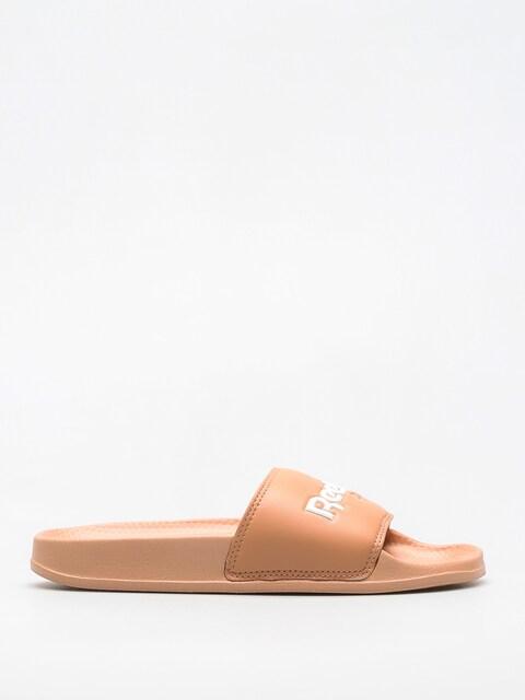 Reebok Flip-flops Klapki  Classic Slid (field tan/white)
