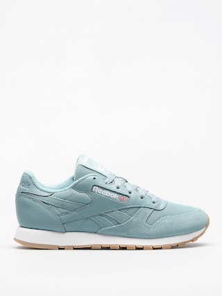 Reebok Shoes Cl Leather Estl Wmn (whisper teal/white)