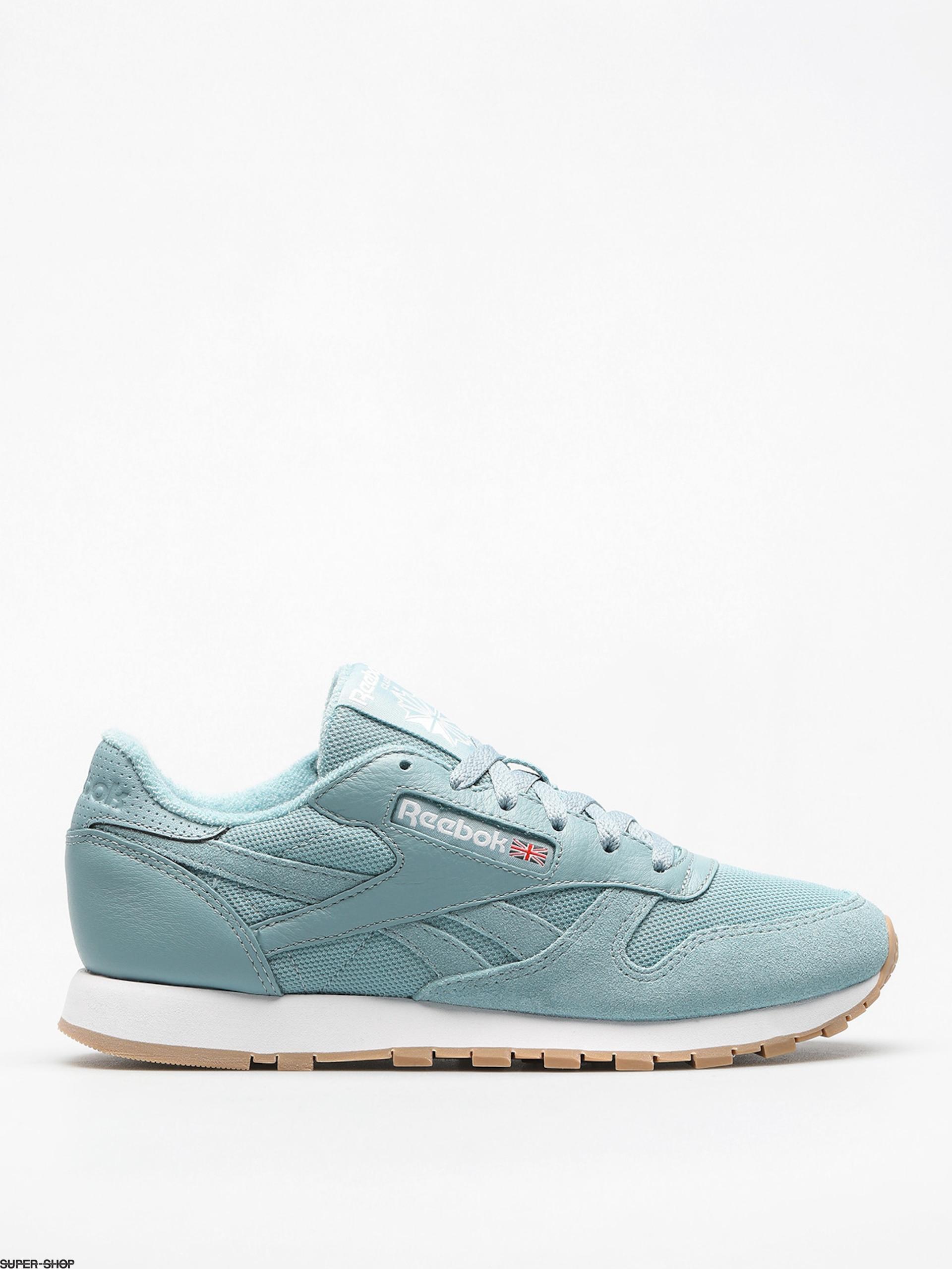 2c6a2e084d3 Reebok Shoes Cl Leather Estl Wmn (whisper teal white)