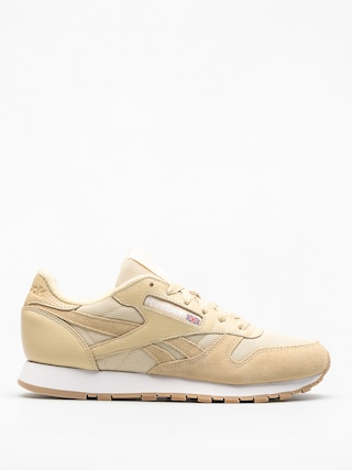 Reebok Shoes Cl Leather Estl Wmn (straw/white)