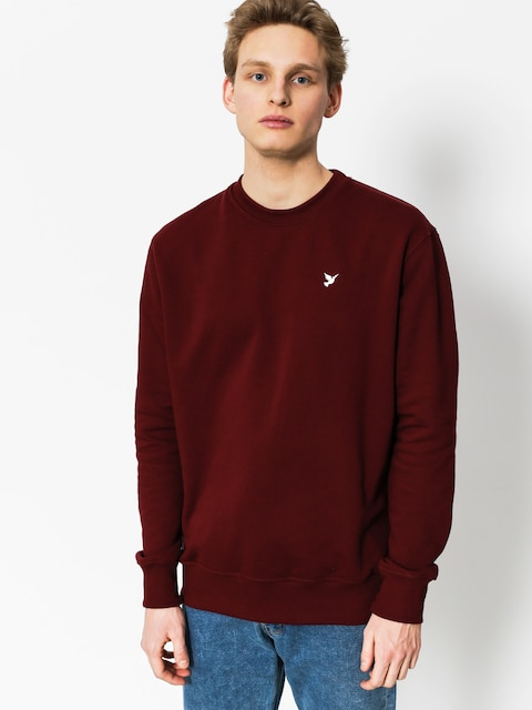 Nervous Sweatshirt Icon (maroon)