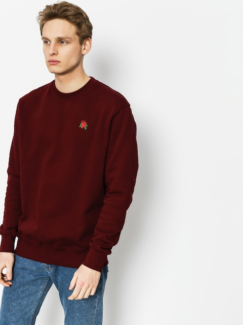 Nervous Sweatshirt Rose (maroon)