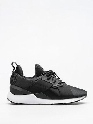 Puma Schuhe Muse Satin Ep Wmn (puma black/puma white)