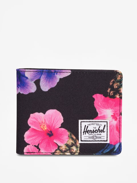 Herschel Supply Co. Wallet Hank Rfid (black pineapple)