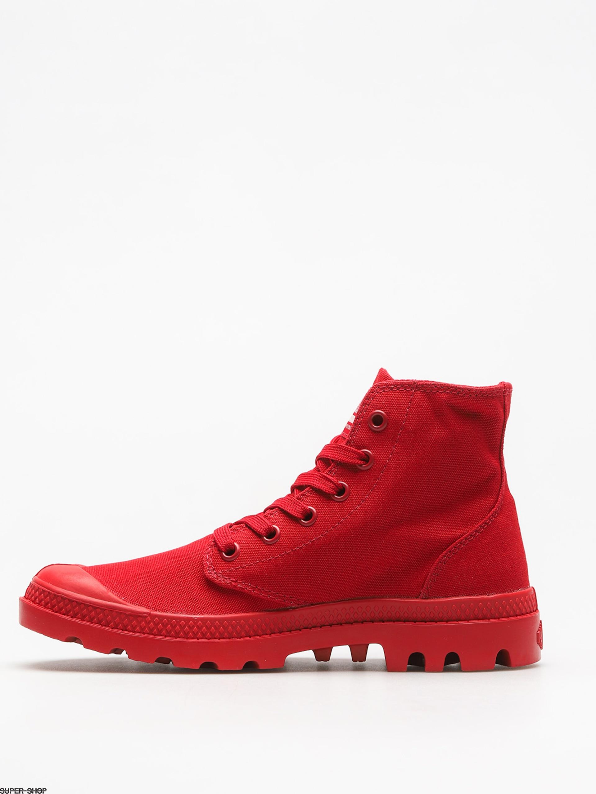 bd11be28b99 Palladium Shoes Mono Chrome (chili pepper)