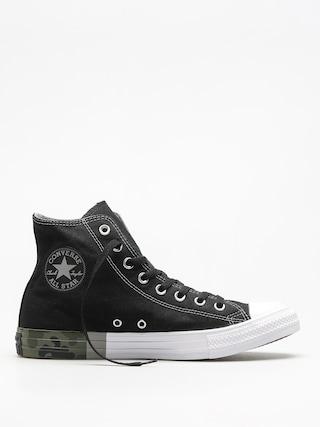 Converse Chucks Chuck Taylor All Star Hi (black/dolphin/white)