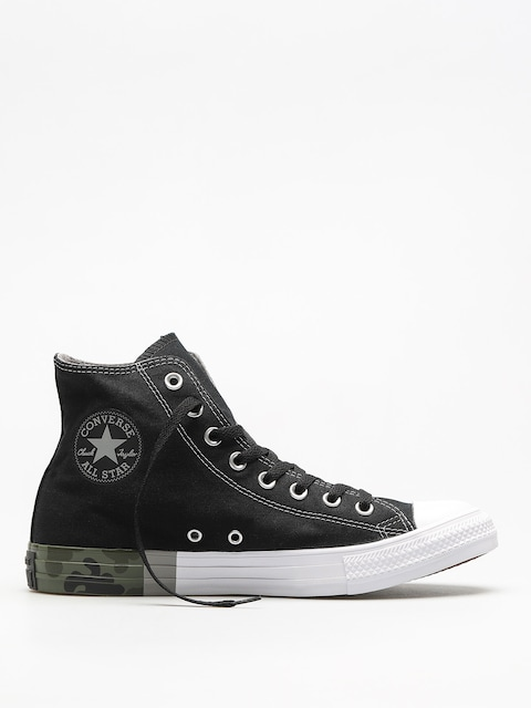 Converse Chucks Chuck Taylor All Star Hi (black/dolphin/white)