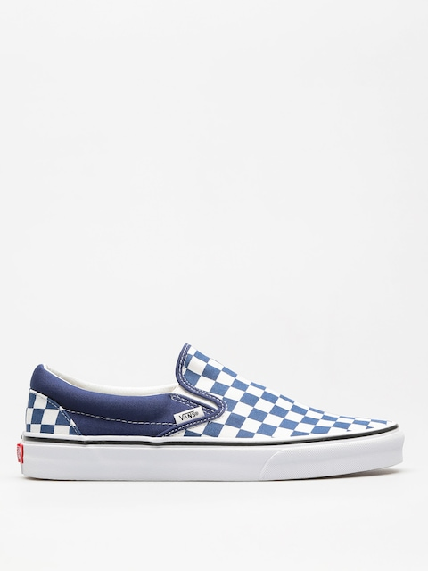 Vans Shoes Classic Slip On (checkerboard/estate/blue/true/white)