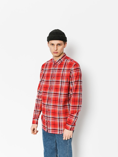 DC Shirt South Ferry Ls (tango red)