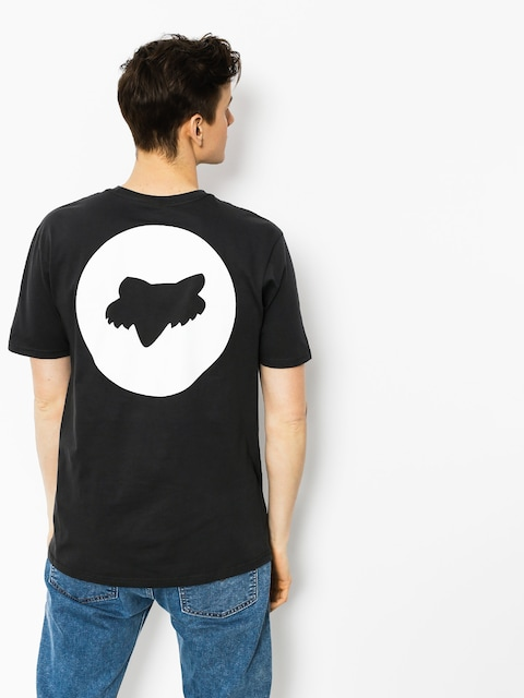 Fox T-Shirt Fault Block Premium (blk vin)