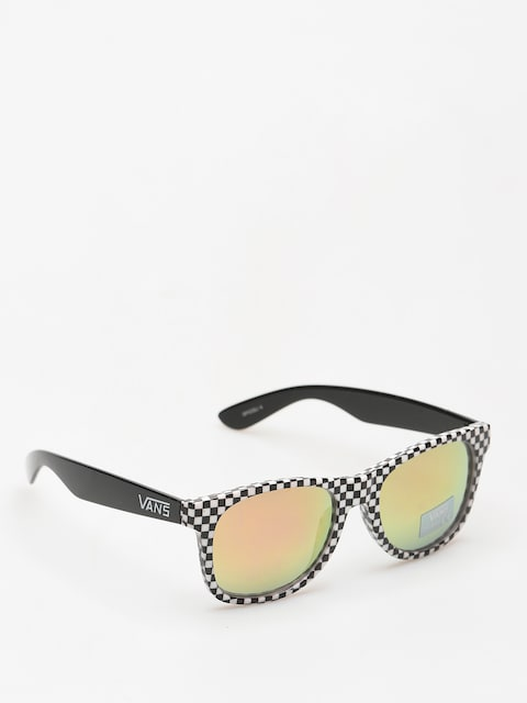 Vans Sunglasses Spicoli 4 (checkerboard black red)
