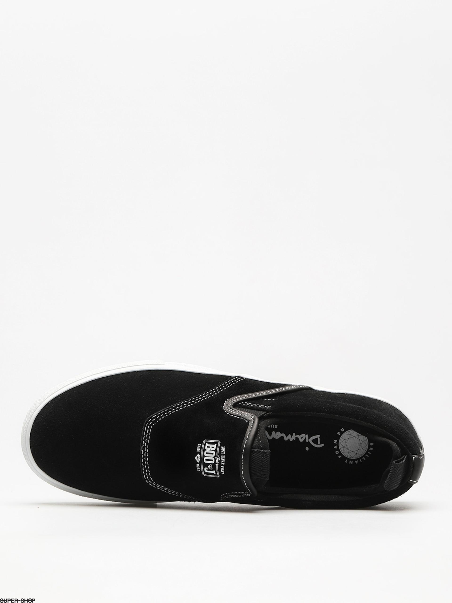 Boo J Diamond Black Shoes