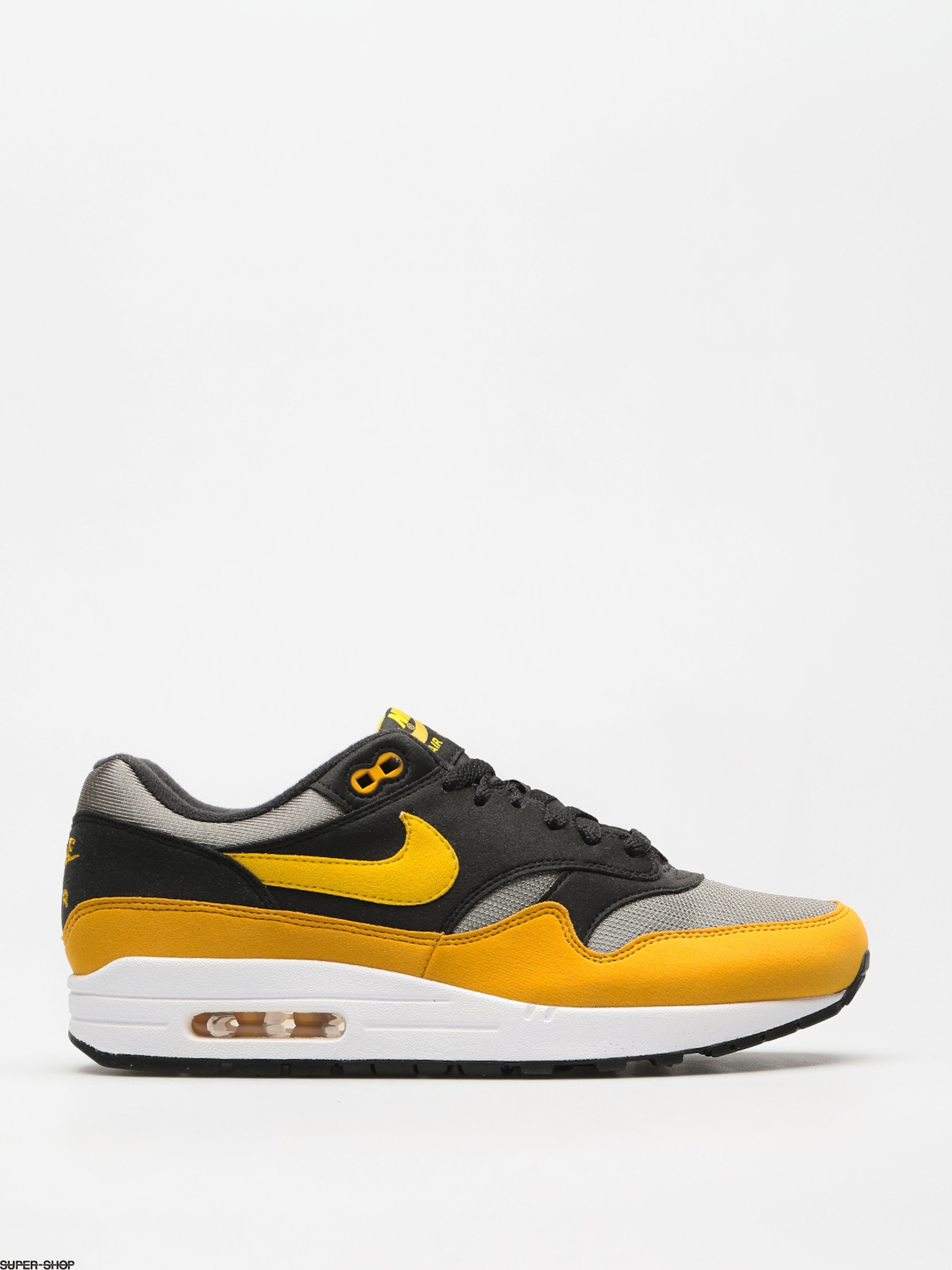 Nike Schuhe Air Max 1 (dark stucco/vivid sulfur black)