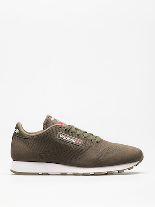 Reebok Shoes Cl Leather Ultk (army green/white)
