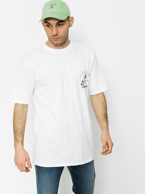 Quiksilver T-shirt Curve Love (white)