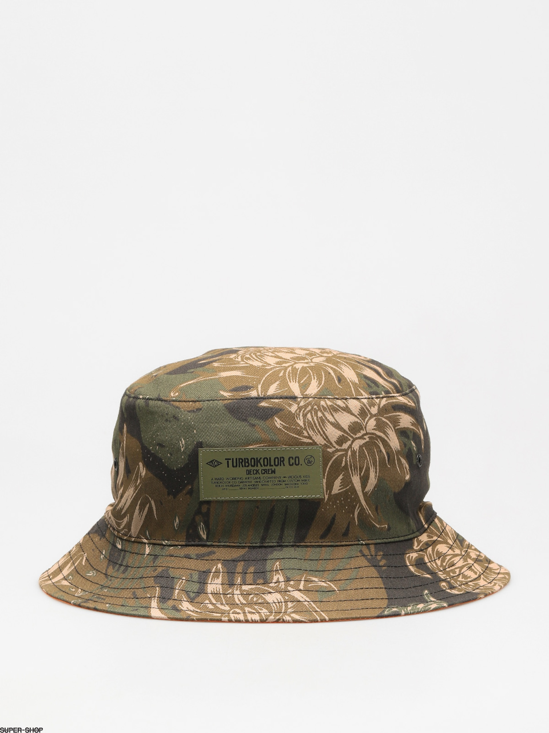 Turbokolor Hat Bucket (camo)