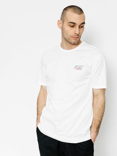Fox T-Shirt Edify Premium (opt wht)
