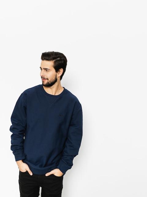 Stussy Sweatshirt Stock LS Terry (navy)