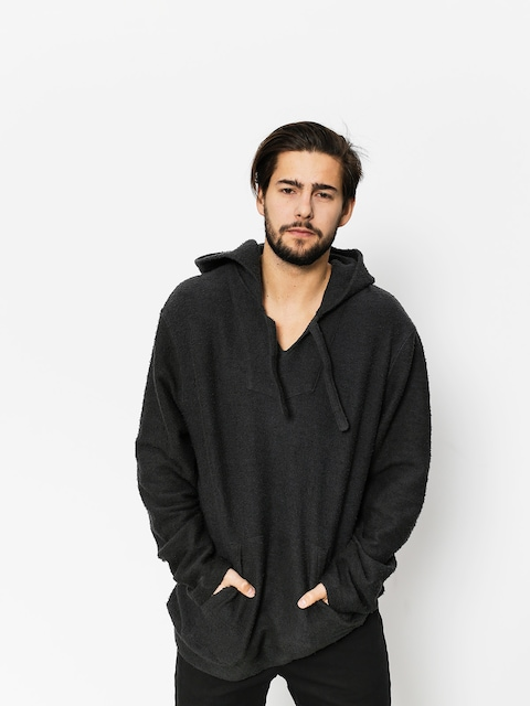 Stussy Sweatshirt Baja Poncho (black)