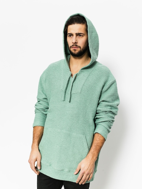 Stussy Sweatshirt Baja Poncho (dark mint)