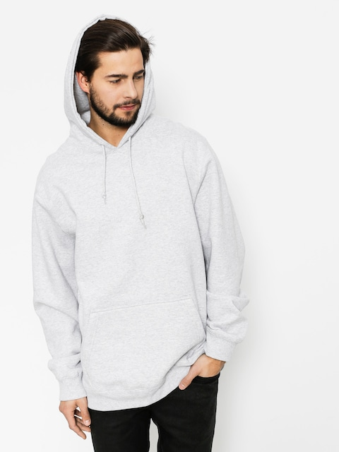 Stussy Hoody Wes App HD (grey heather)