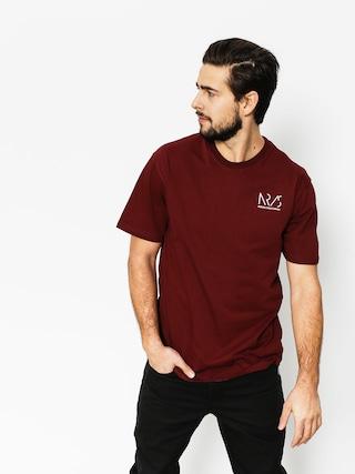 Nervous T-Shirt Icomplete (maroon)