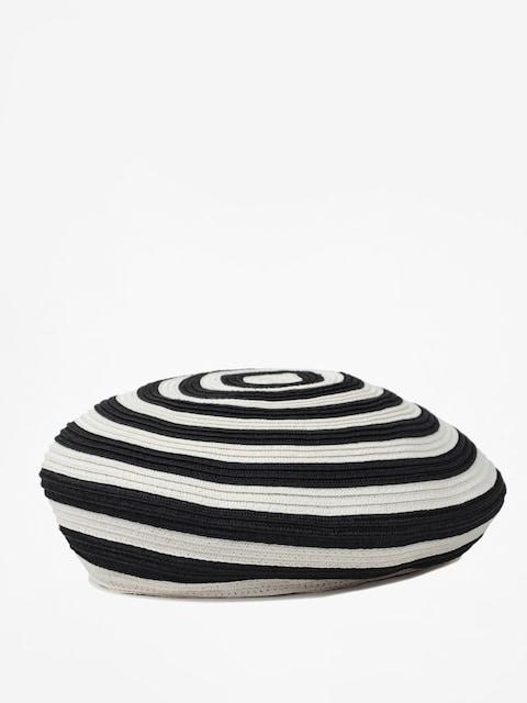 Brixton Flat cap Beret Audrey Straw Beret Wmn (black/white)