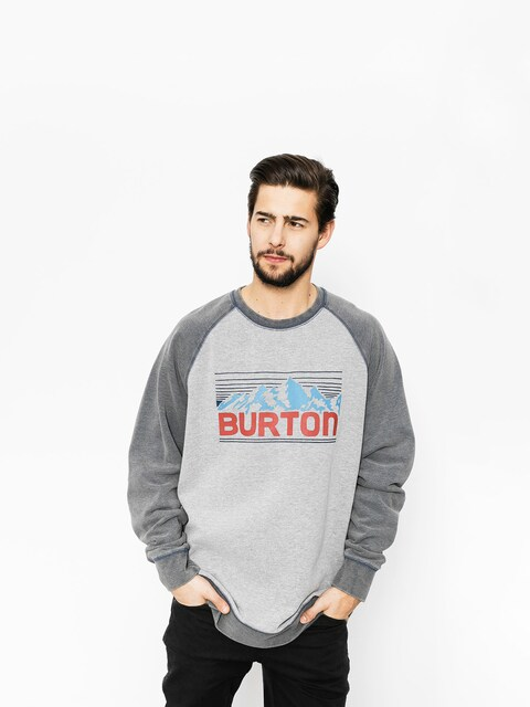 Burton Sweatshirt Vista Crew (gray heather)