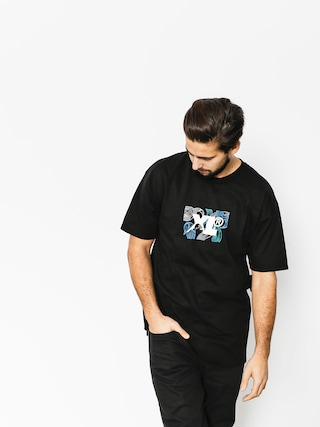 XLARGE T-shirt Leaf Xl (black)