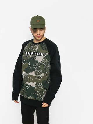 Burton Sweatshirt Vault Crew (forestnight hawaiian)