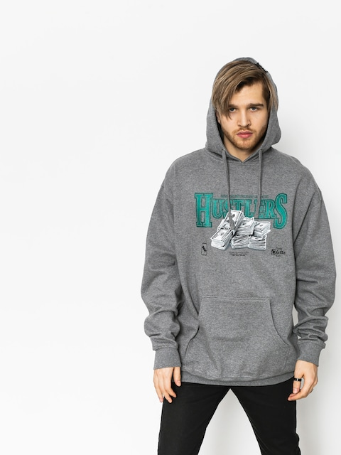 DGK Hoodie Team Hustle HD (gunmetal heather)