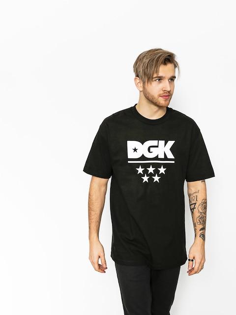 DGK T-shirt All Star (black)