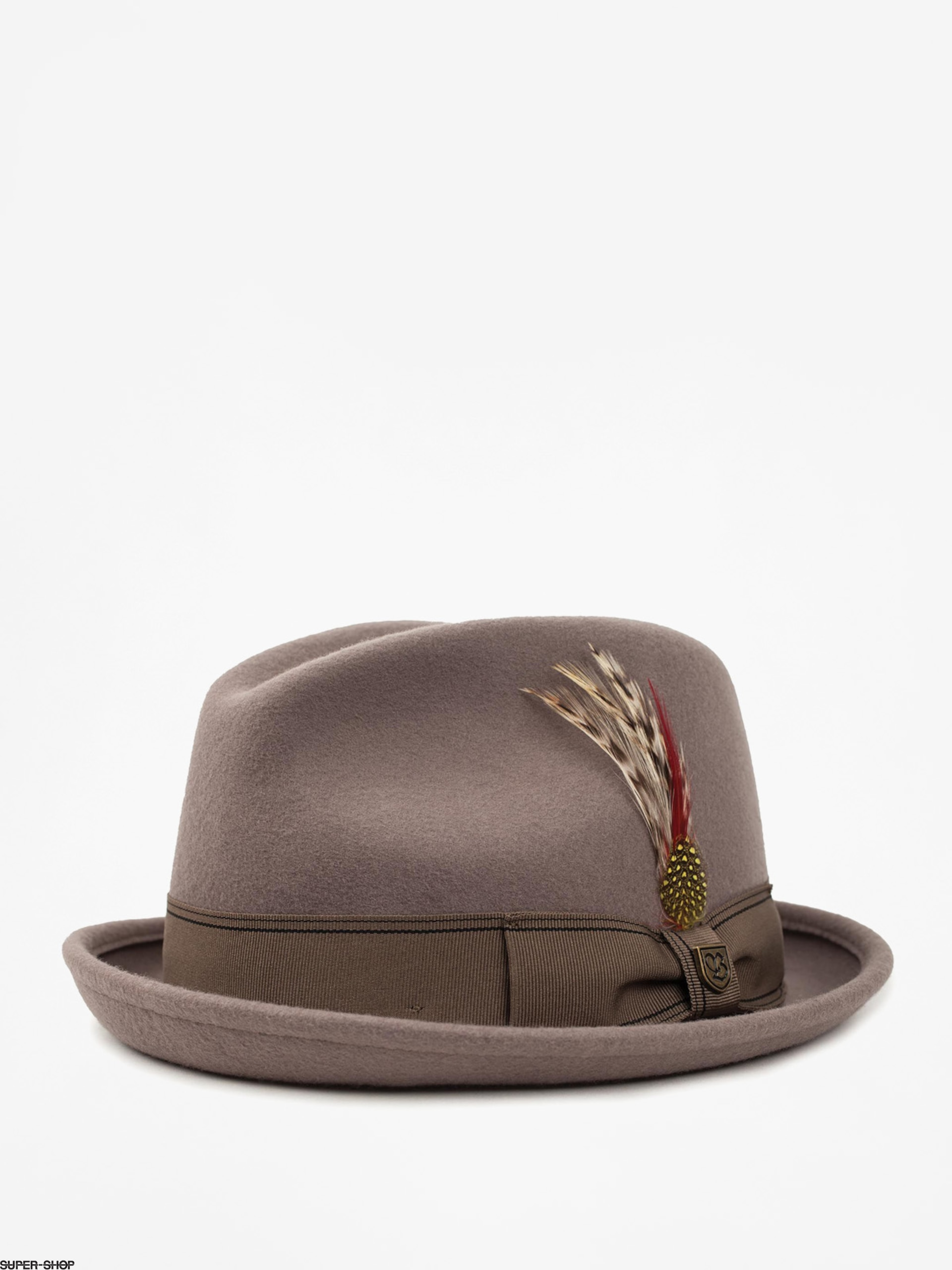 Brixton Hat Gain Fedora (natural)
