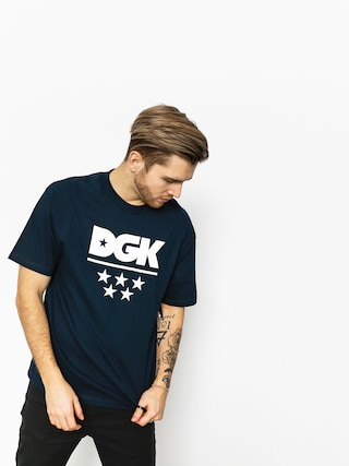 DGK T-shirt All Star (navy)