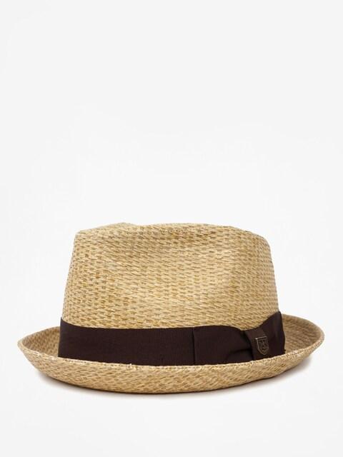 Brixton Hat Castor Fedora (tan stripe)