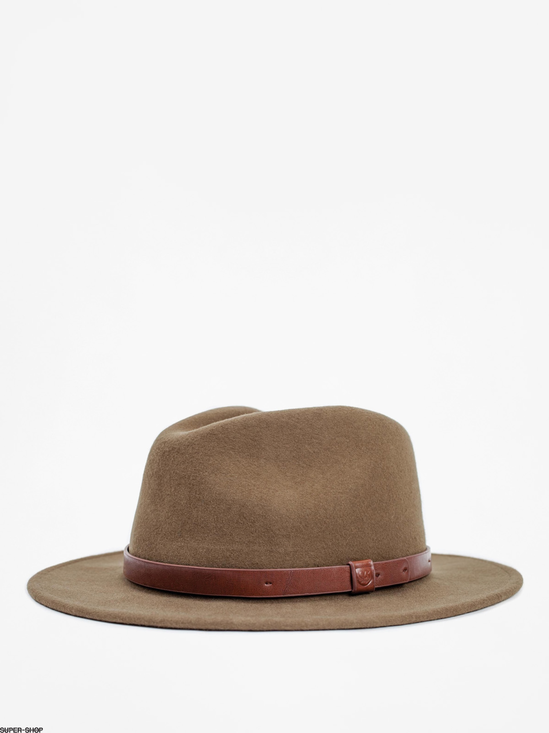 Brixton Hat Messer Fedora (light olive)